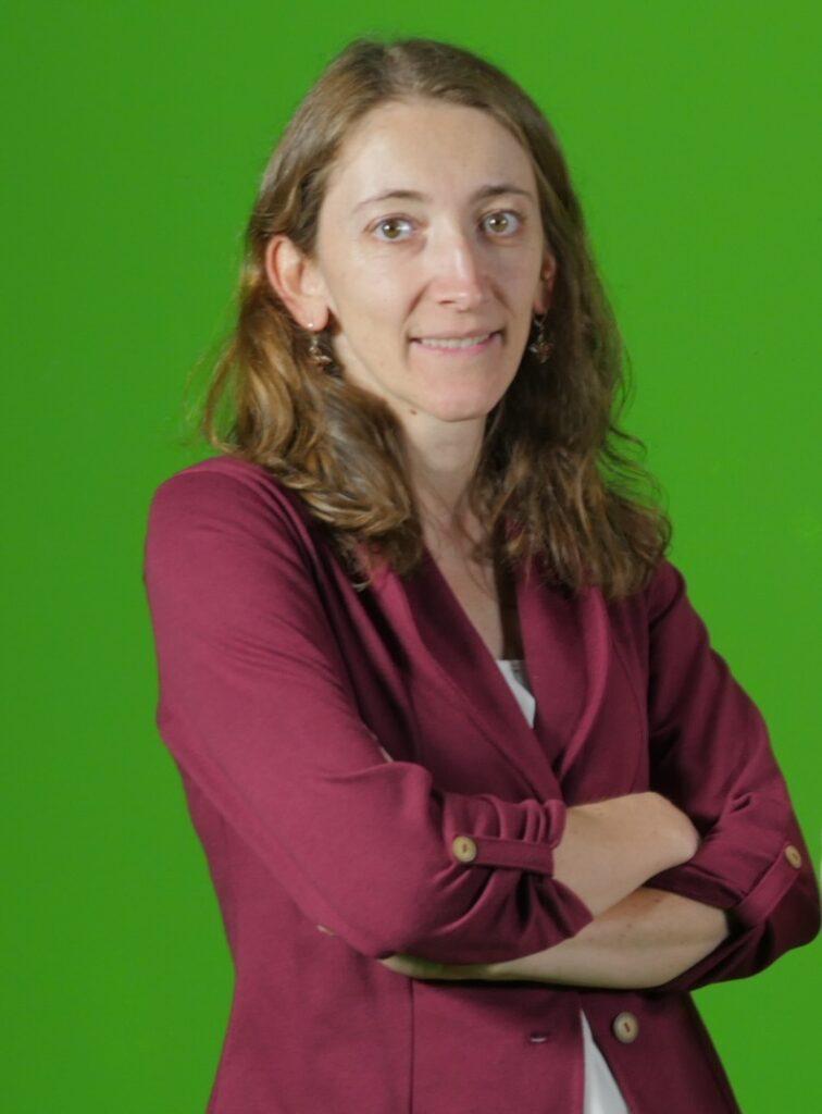 Daniela Blessent, profesora de la Facultad de Ingenierías de la UdeMedellín